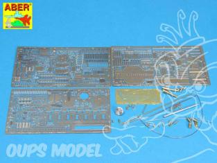 Aber 16050 Tigre I Ausf. E Middle version Set de base Hobby Boss 1/16