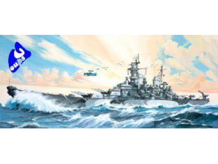 Revell maquette bateau 5092 USS MISSOURI 1/535