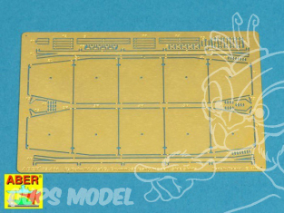 Aber 72A04 Jupes laterale pour Panzer IV Ausf. G & early Brummbar 1/72