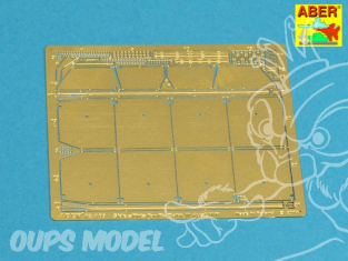 Aber 72A09 Jupes laterale pour PzKpfw III 1/72