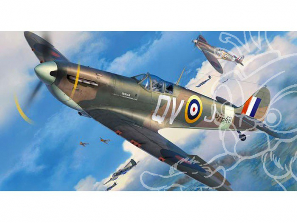 revell maquette avion 03986 Supermarine SPITFIRE Mk.IIa 1/32
