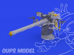 Eduard kit d'amelioration brassin 672034 8,8cm Gun pour Sous marins Allemands Revell 1/72