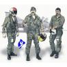 CMK figurine 72134 PILOTES US AU VIET NAM 1/72