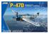 Kinetic maquette avion K3207 P-47D Bubble Top 1/24
