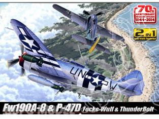 172 Et Avion 47 Academy D Day Fw190a P 12513 Combo Maquette 8 0mONnv8w