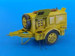 Plus Model 4014 Generateur Allemand Sd.Ah.24 1/48