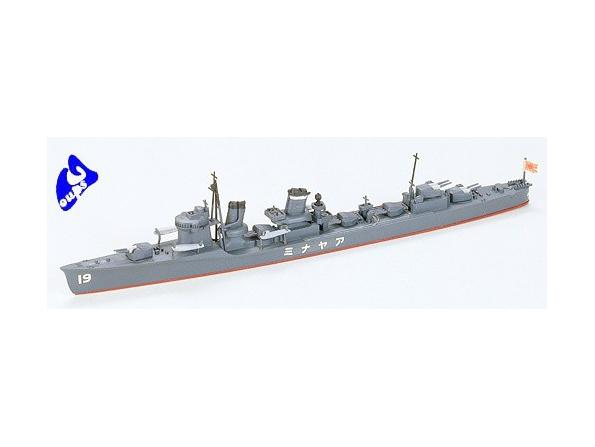 TAMIYA maquette bateau 31405 Ayanami Destroyer 1/700