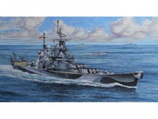 Revell maquette bateau 05128 USS Missouri (BB-63) 1/1200