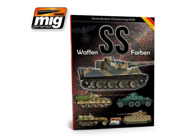 MIG librairie 6002 Waffen SS guide de camouflage en langue Allemande