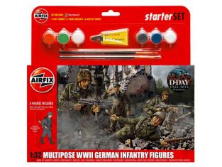 Airfix maquette militaire 55210 model set Infanterie allemande 1/32