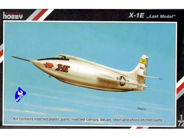 Special Hobby maquette avion 72158 X-1E 1/72