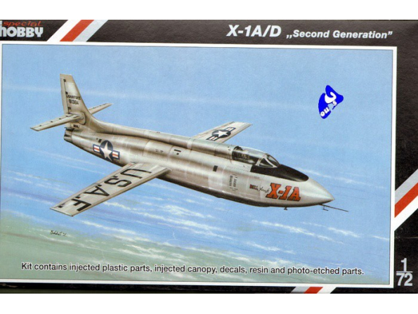 Special Hobby maquette avion 72160 X-1A/D 1/72