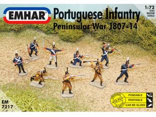 EMHAR figurine 7217 Infanterie Portugaise 1807/1814 1/72