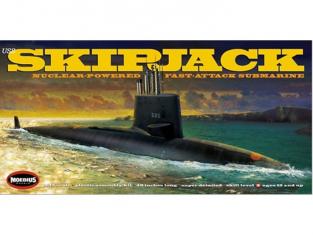 Moebius maquette sous marin 1400 USS Skipjack Sous marin 1/72