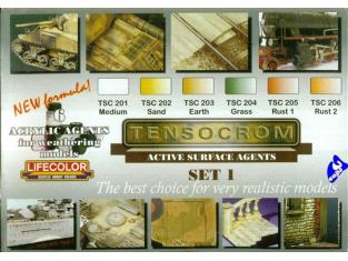 Lifecolor peinture Tensocrom Set1