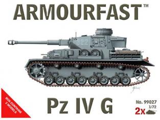 Armoufast maquette militaire 99027 Panzerkampfwagen IV 1/72