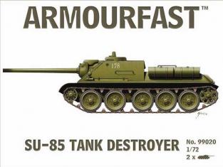 Armoufast maquette militaire 99020 SU 85 1/72