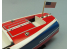 Dumas bateau Bois 1263 CHRIS CRAFT RACER 16' 1/8