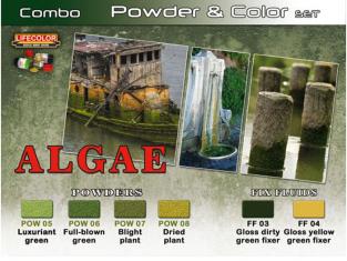 LIFECOLOR peinture SPG07 Set Algues
