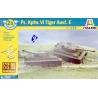 Italeri maquette militaire 7505 Tigre VI wargame 1/72