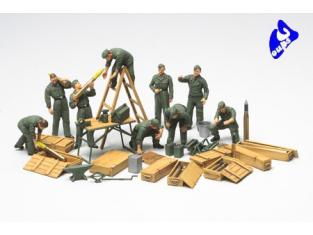 Soldats américains 1//48 Tamiya 32513
