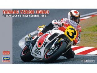 hasegawa maquette moto 21710 Yamaha YZR500 1989 1/12