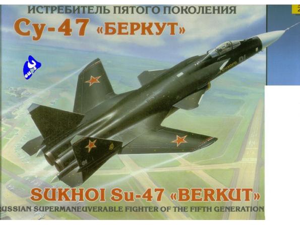 Zvezda maquette avion 7215 Sukhoi Su-47 1/72