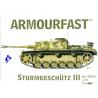 Armourfast maquette militaire 99018 Sturmgeschûtz III 1/72
