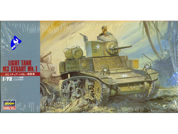 Hasegawa maquette militaire 31103 M3 Stuart Mk1 1/72
