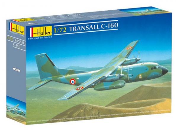 Heller maquette avion 80353 Transall C-160 1/72
