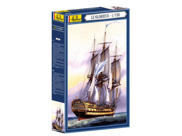 Heller maquette bateau 80889 Le Glorieux 1.150