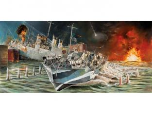 Italeri maquette bateau 5619 Vopser MTB74 Raid de Saint Nazaire 1/35