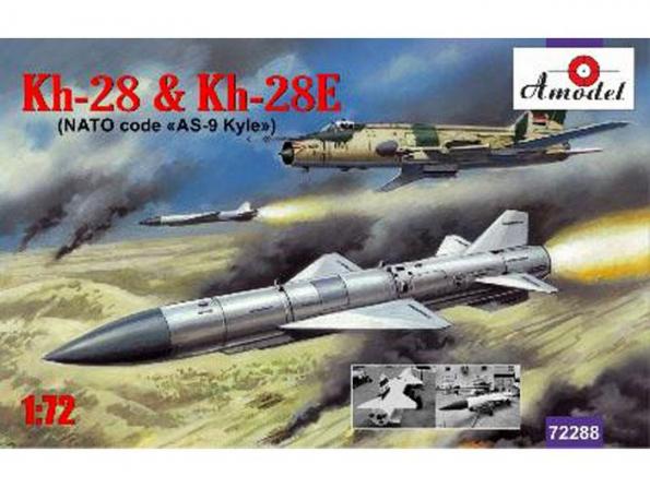 Amodel maquette avion 72288 KH-28 & KH-28E- MISSILES AIR 1/72