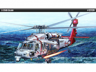 Academy maquette Helicoptére 12120 USN MH-60S HSC-9 Trouble Shooter 1/35