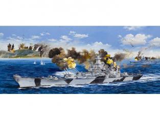 Trumpeter maquette bateau 03706 CUIRASSE USS BB-61 IOWA 1944 1/200