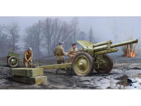 Trumpeter maquette militaire 02343 CANON HOWITZER SOVIETIQUE DE 122MM 1938 M-30 1/35