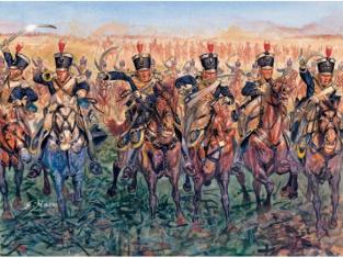 Maquette Italeri Historique 6094 Cavalerie légère Britannique 1815 1/72