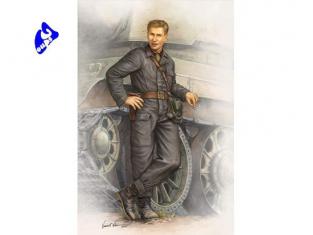 Trumpeter figurine militaire 00701 TANKISTE SOVIETIQUE 1942 1/16