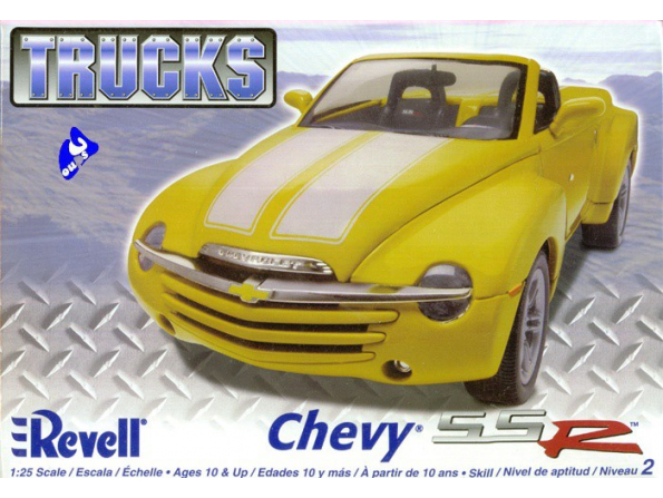Revell US maquette voiture 85-7206 Chevy SSR Pickup 1/25