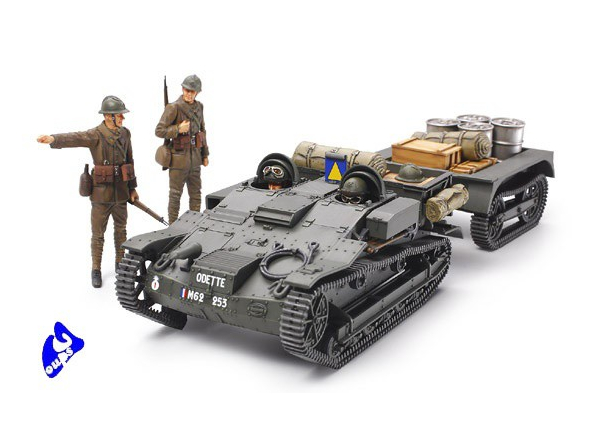 Tamiya maquette militaire 35284 Chenillette Renault UE 1/35