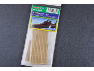 Trumpeter photo-decoupe 06634 RAMBARDES ET ÉCHELLES Pour NAVIRES 1/700