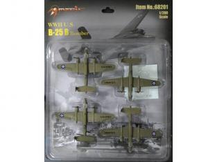 Merit maquette miniature avion 68201 X B-25 MITCHELL 1/200