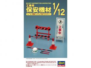 Hasegawa maquette 62008 équipement de sécurité 1/12
