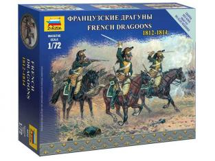 Zvezda maquette historique 6812 Dragons Français 1/72