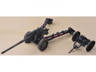 Merit maquette militaire 61601 CANON ALLEMAND 10.5cm K18 105MM 1/16