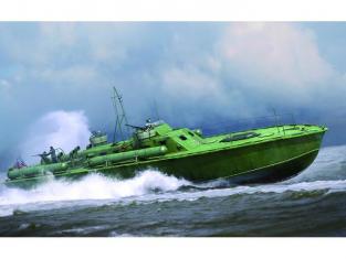 Merit maquette bateau 64802 VEDETTE LANCE TORPILLE US NAVY ELCO 80 1/35