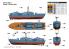 Merit maquette bateau 67203 CORVETTE LANCE-MISSILES TYPE 21 1/72