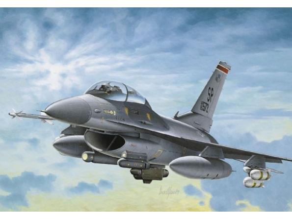 italeri maquette avion 0188 f16 1/72
