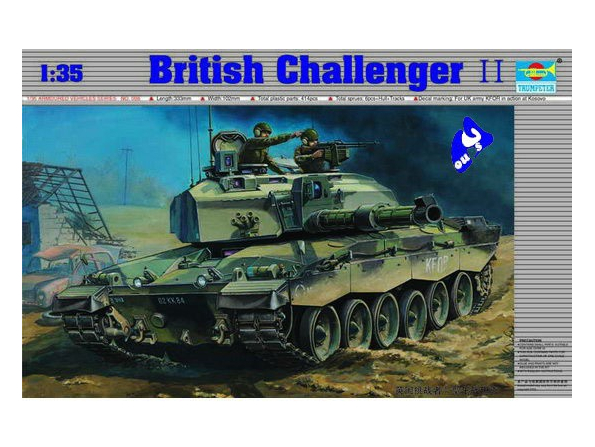 "Trumpeter maquette militaire 00308 ""CHALLENGER II "" GRANDE BRETA"