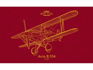 EDUARD maquette avion R0010 Avia B.534 Quattro combo Royal Class 1/72